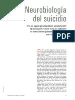 Neurobiología Del Suicidio