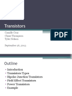 Transistors Final