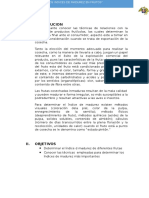 Determinaciond Elos Indices de Madurez de La Fruta