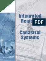 Cadastral Integrated_registry Principles