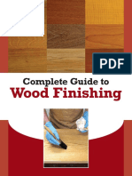 Wood Finishing Guide