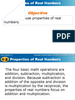 Additive and Multiplicative Inverse Properties