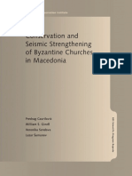 Conservation and Seismic Strengthening of Byzantine Churches in Macedonia - Predrag Gavrilović, William S. Ginell, Veronika Sendova, Lazar Šumanov