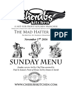 27112016 Sunday Menu - Hatter