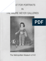 A Hunt for Portraits in the Andre Meyer Galleries