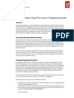 Adobe Creative Cloud for Teams - IT DEPLOYMENT GUIDE