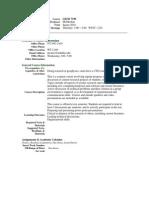 UT Dallas Syllabus for geos7190.5u1.10u taught by George Mcmechan (mcmec)