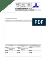 P-pc-554(m) Procedimiento de Tension y Torqueo Rev 00