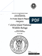 Archive Search Report - 1995 - Culebra NWRl