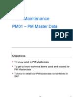 PM01 - PM Master Data