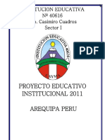 Proyectoeducativoinstitucional2011 Ok