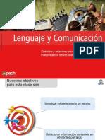 Clase 12 Sintetizo y Relaciono Párrafos Interpretando Información 2016 CES