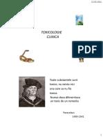 Toxicologie - Notiuni Introductive