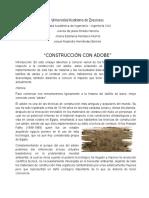 Construcción Con Adobe