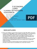 MERCANTILISMO FORMAS DE RIQUEZA