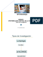 16 Pres Tipos de Investigacion