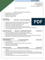 trevor kennedy resume final