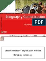 Clase 14 Revisión Ensayo LC-034 2016 CES