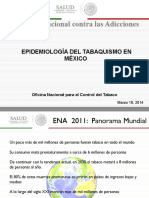 1. Epidemiología Del Tabaquismo en México (1)