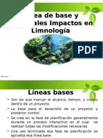 Linea Base y Principales Impactos en La Limnología. 1