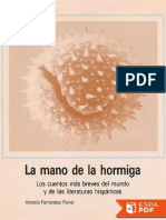 La mano de la hormiga - VV. AA_.pdf