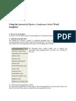JPCS Sword Template Guidelines
