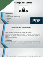 Presentacion Manejo Del Estres