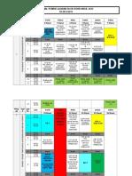 Jadwal Blok Bshb Angk 2012