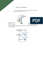 Guía Acumulativa 2 - Estática 2