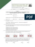 9º ano 6º Teste de Matemática (A,B) ( 09-10) Probabilidades, Sistemas de Equações, Inequações, Semelhanças, Lugares Geométricos,Trigonometria, Áreas e Volumes, Profª Susana Ribeiro