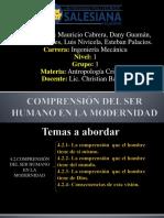 El Ser Humano en La Modernidad - Antropologia Cristiana