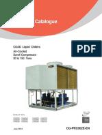 Catalogo Chiller Trane CGAD Cg-prc002e-En_07012012