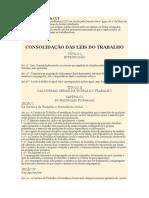 Principais Artigos Da CLT