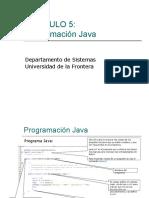 007 Programacion Java IO de Datos Cap 5