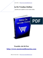 Biblia de Vendas Online
