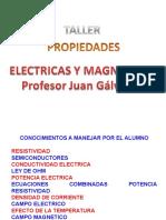Taller Propiedades Electricas y Magneticas