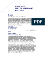 Behague Brazil GroveDictionary