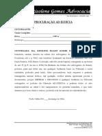 Procuração e Contrato1