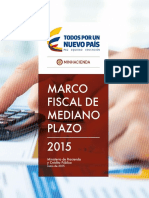 Marco Fiscal Mediano Plazo