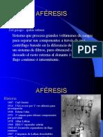 AFERESIS BASICO
