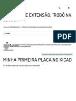 Minha Primeira Placa No KiCad – p3r3