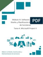 Tema 4 Módulo IV Microsoft Project II