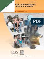 Revista Latinoamericana de Derechos Humanos, Vol. 27, num. 1
