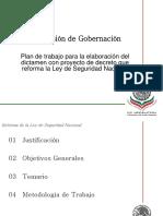Plan de Trabajo Aprobado Por La Plenaria de La Comision de Gobernacion