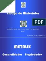 (EM2) Clase. Metales. Clase Generalidades y Propiedades