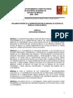 Reglamento Municipal de Ecatepec