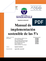 Manual Para La Implementación Sostenible de Las 5s