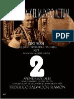 La Religión y el Mundo Actual  de Federico Salvador Ramón – 2 – Todo Ficción