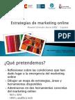 Ponencia Estrategias de marketing Online