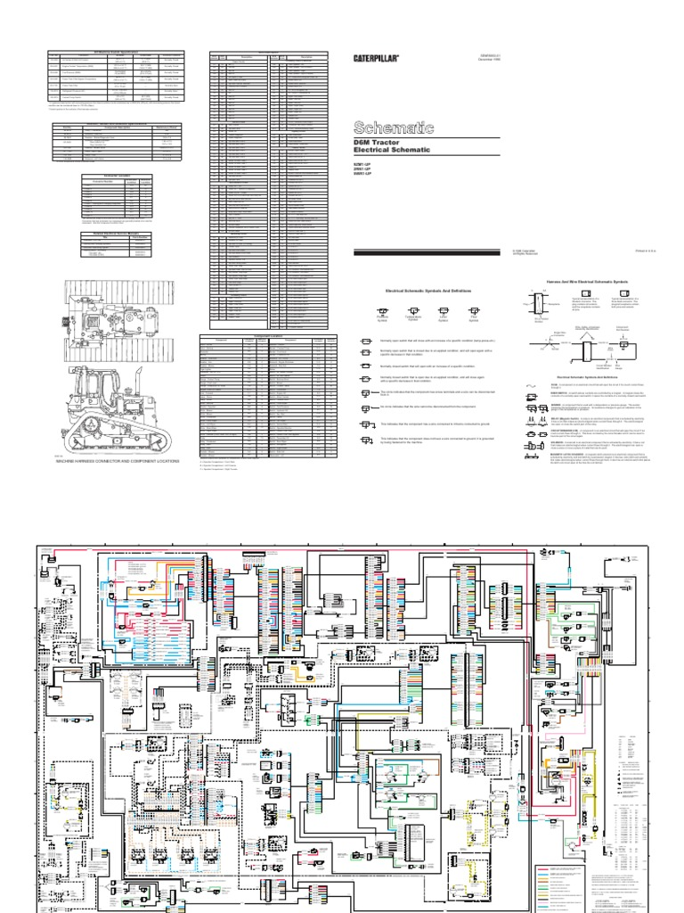 starter wiring schematic for d6m cat wiring diagram Cat 7 Cable d6m cat 2003 pdf electrical connector forcestarter wiring schematic for d6m cat 7